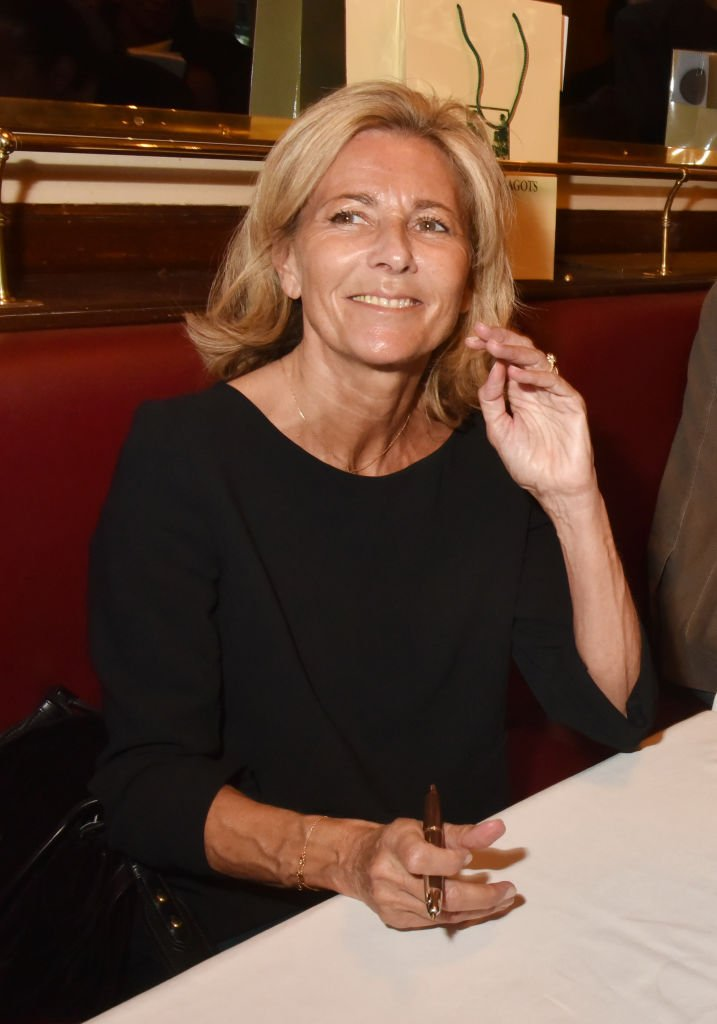 "Claire Chazal à la signature de ""lte litteraire des deux magots"" 