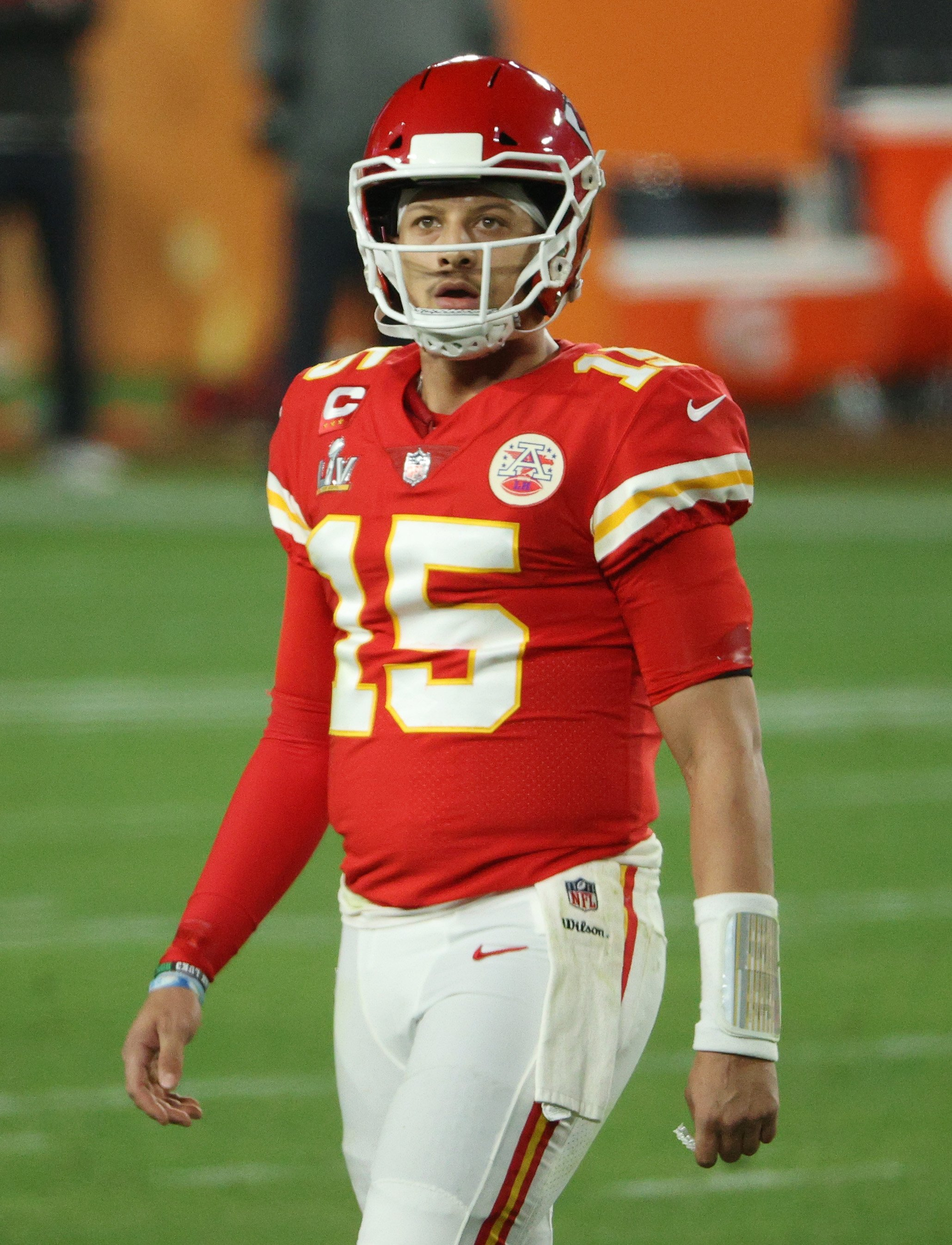 Patrick Mahomes and the Kansas City Chiefs lost 31-9 to the Tampa Bay Buccaneers in the Super Bowl LV, February, 2021. | Photo: Getty Images.