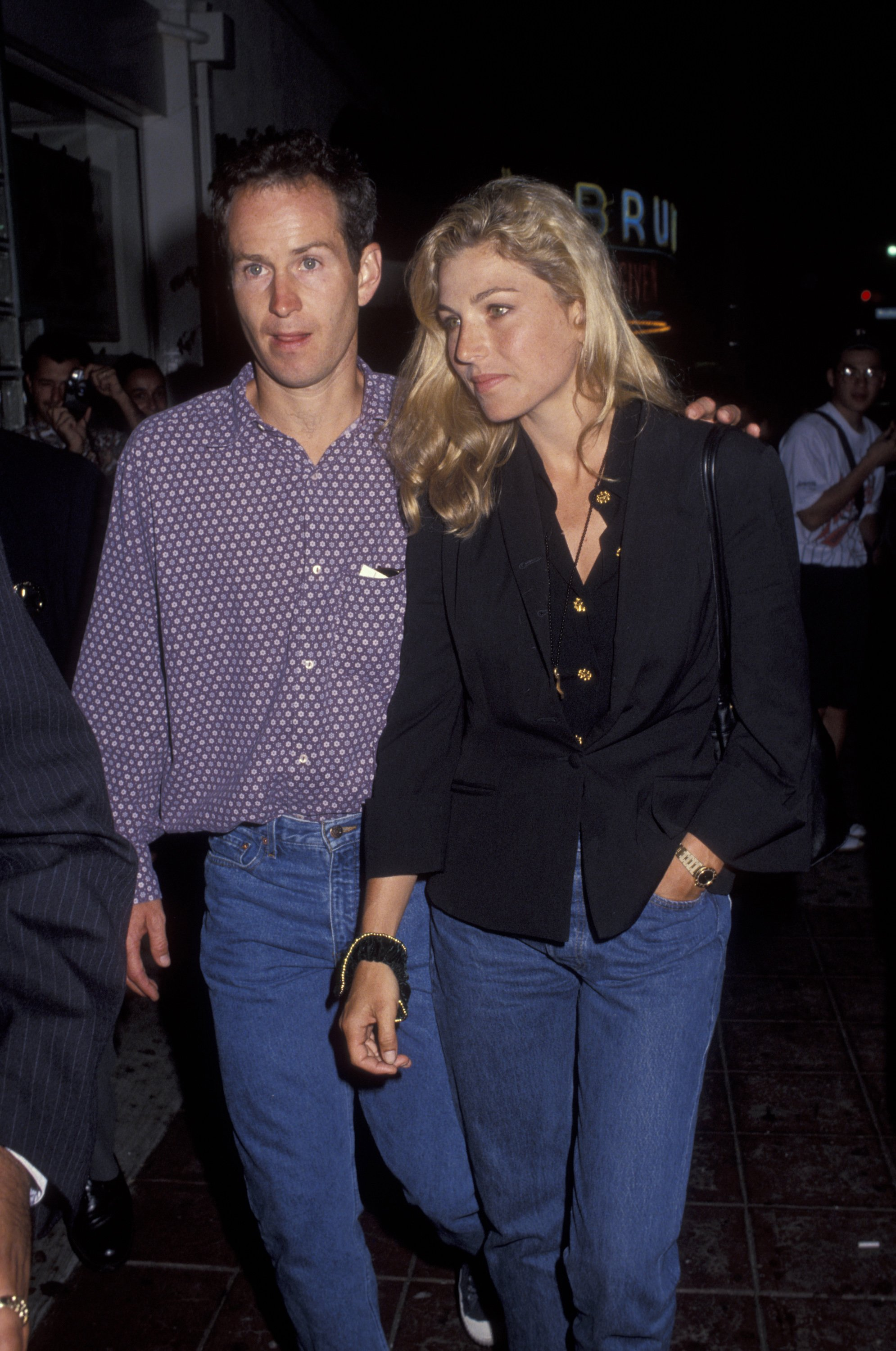 John McEnroe and Tatum O'Neal | Photo by Ron Galella, Ltd./Ron Galella Collection via Getty Images