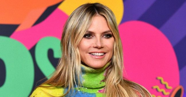 Heidi Klum at the 2021 Nickelodeon's Kids' Choice Awards in March 2021 in Santa Monica, California.   Photo: Getty Images
