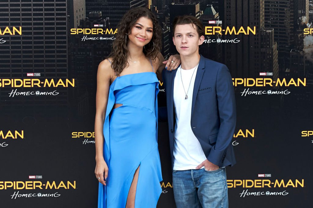 Zendaya and Tom Holland at 'Spider-Man: Homecoming' photocall on June 14, 2017 | Photo: Getty Images