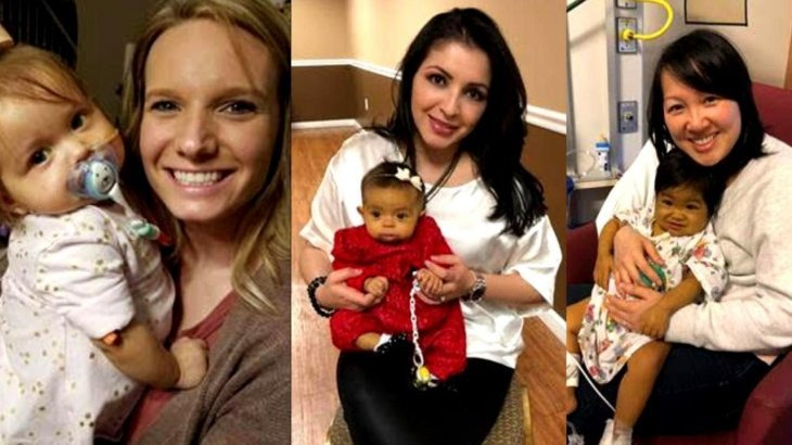 Madres estadounidenses donaron parte de sus hígados para salvar a sus hijas. | Foto: Youtube/cbstvdinsideedition