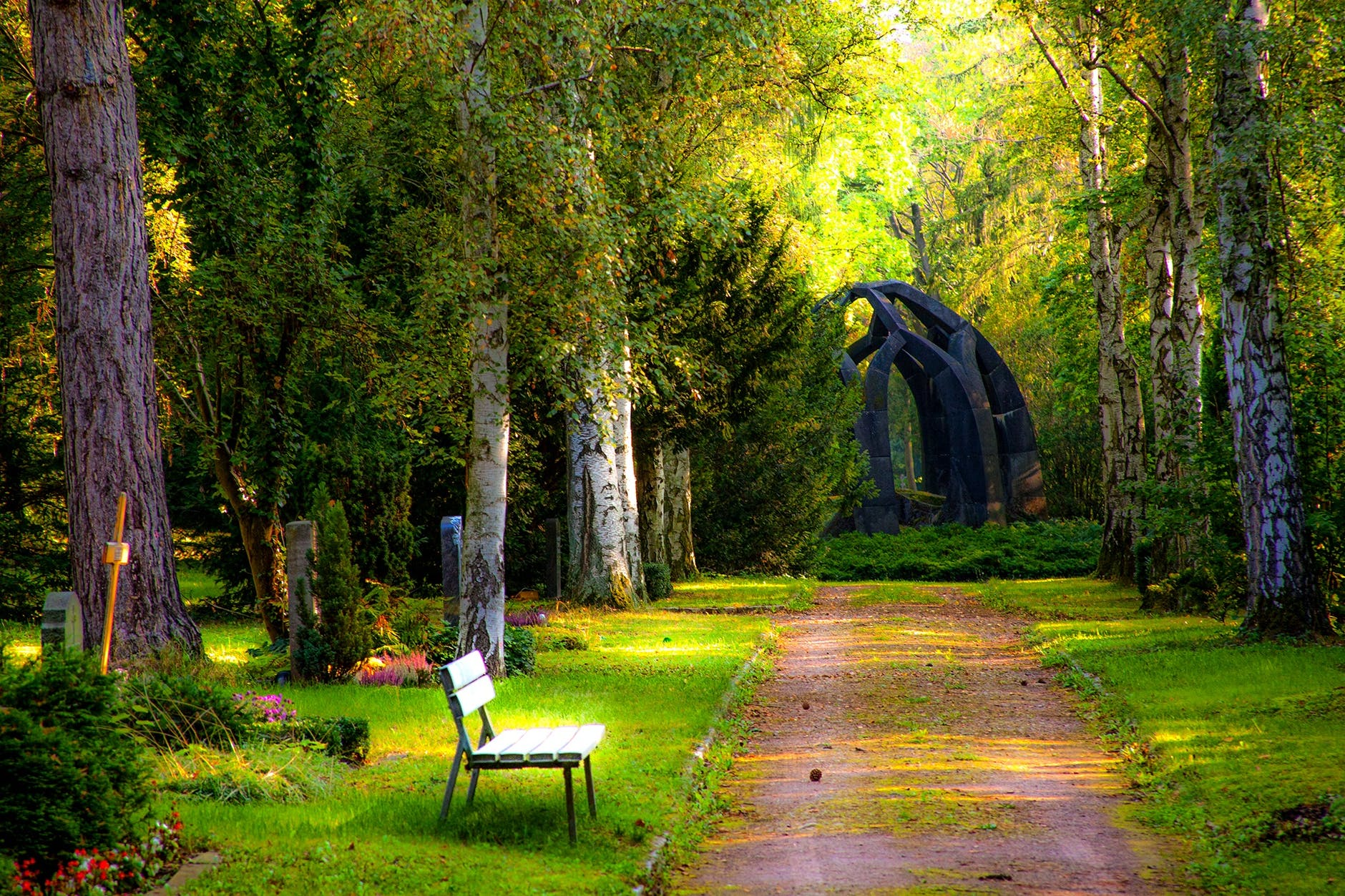 An image of a garden | Photo: Pixabay