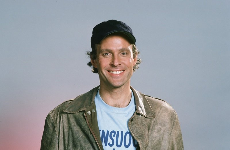 "Dwight Schultz as 'Howling Mad' Murdock from ""The A-Team"" circa 1986 