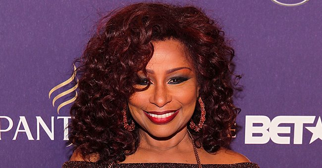 Chaka Khan's Great-grandson Adorably Poses in White Shirt and Sunglasses in a Photo