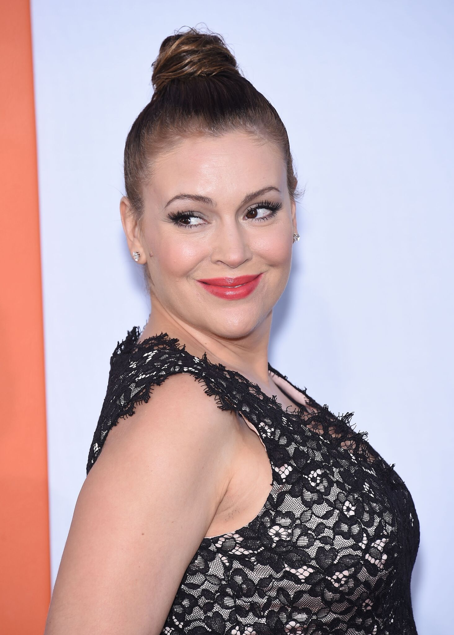 "Alyssa Milano arrives to the ""Get Hard"" Los Angeles Premiere  