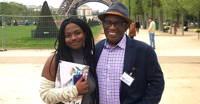 Al Roker Shares a Sweet Throwback Snap Posing With Daughter Leila in Front of the Eiffel Tower