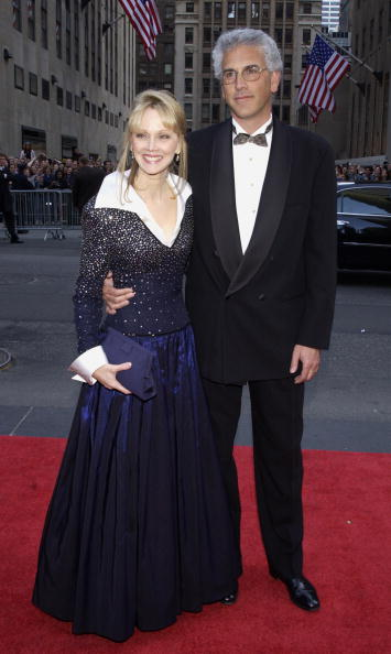 Shelley Long and ex husband Bruce Tyson during NBC 75th Anniversary at Rockefeller Plaza in New York City | Photo: Getty Images