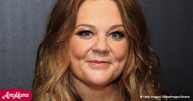 Melissa McCarthy shares throwback photo of herself and she can't be recognized