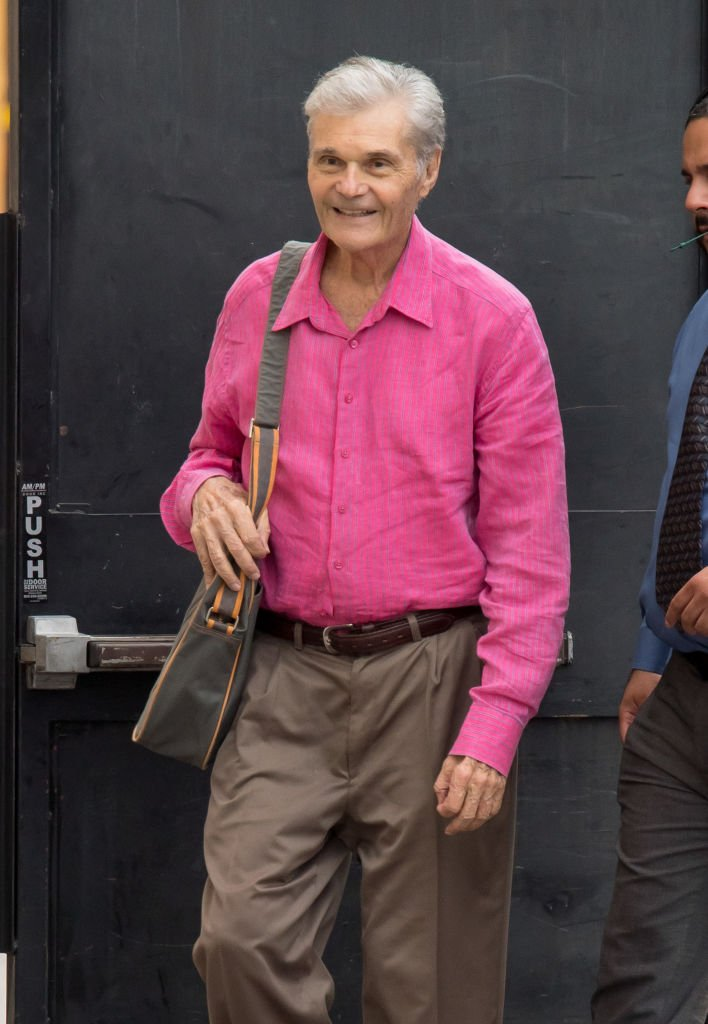"Fred Willard est présent au ""Jimmy Kimmel Live"" le 3 octobre 2018 à Los Angeles, en Californie. 