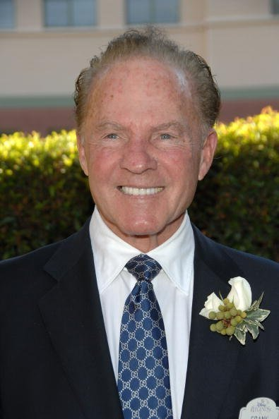 Frank Gifford at the 2008 Disney Legends Ceremony in Burbank, California.| Photo: Getty Images.