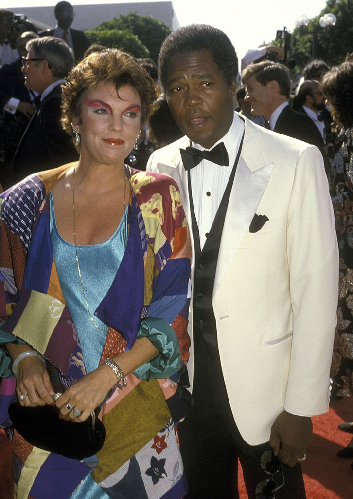 Tyne Daly and Georg Stanford Brown at the 38th Annual Primetime Emmy Awards in Pasadena   Photo: Getty Images