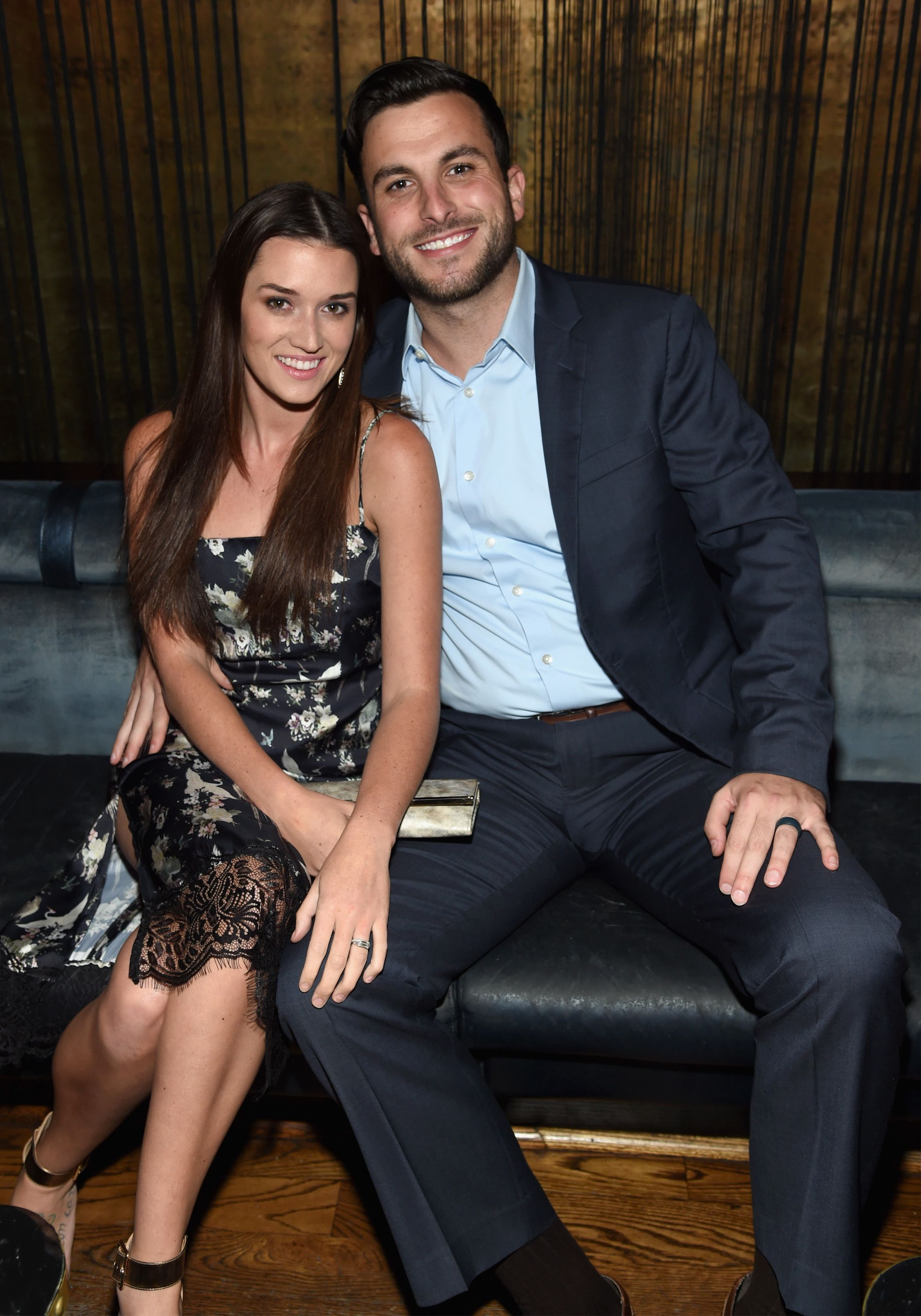 Jade Roper and Tanner Tolbert at The Season 6 Premiere of Marriage Boot Camp Reality Stars at Up & Down on September 22, 2016   Photo: Getty Images