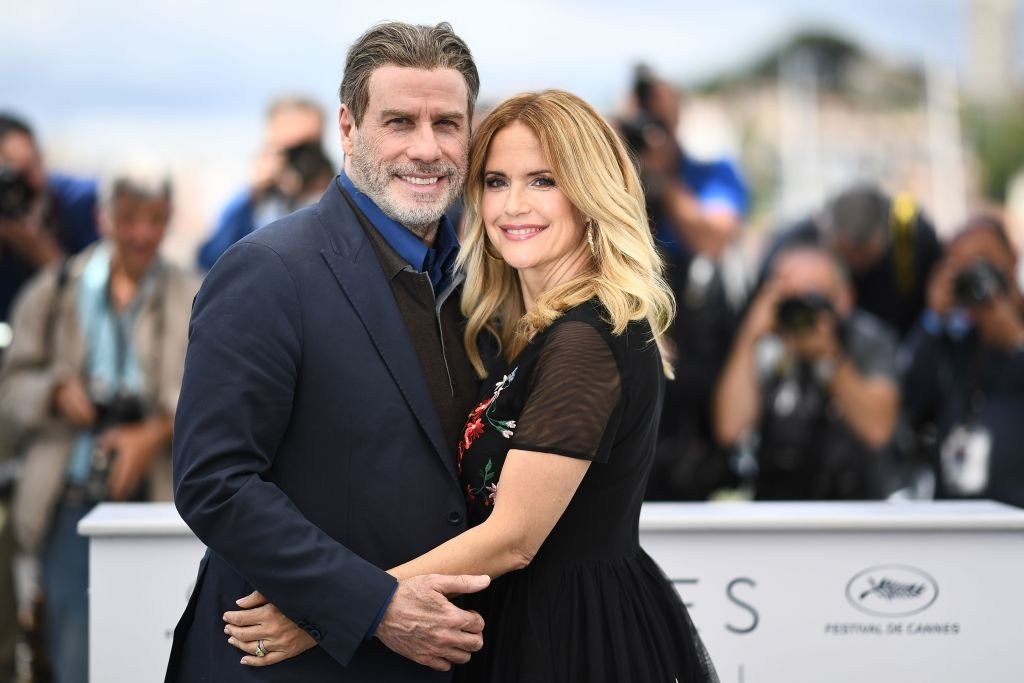 John and Kelly on May 15, 2018, at the Cannes Film Festival, France   Source: Getty Images