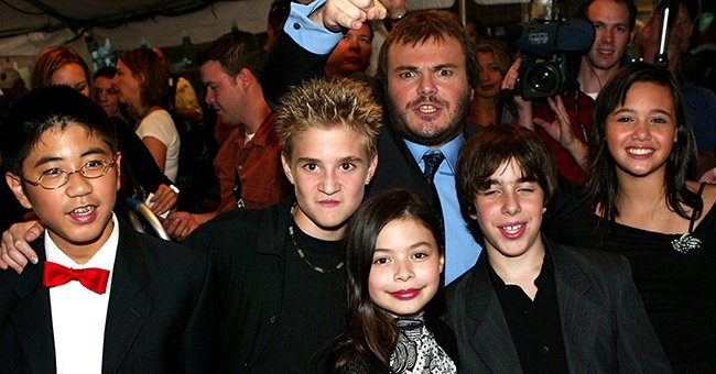 """Kevin Clark and the cast of """"School of Rock"""" as a gala screening of the film, at the 2003 Toronto International Film Festival. 2003, Toronto, Canada.   Photo: Getty Images"""