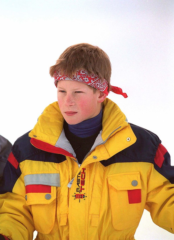 Prince Harry enjoys Holiday in Klosters, Switzerland on January 2, 1998 | Photo: Getty Images