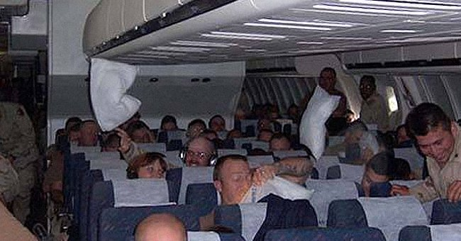 Denny Kukich shares his story about a flight with soldiers. | Source: facebook.com/lovewhatreallymatters