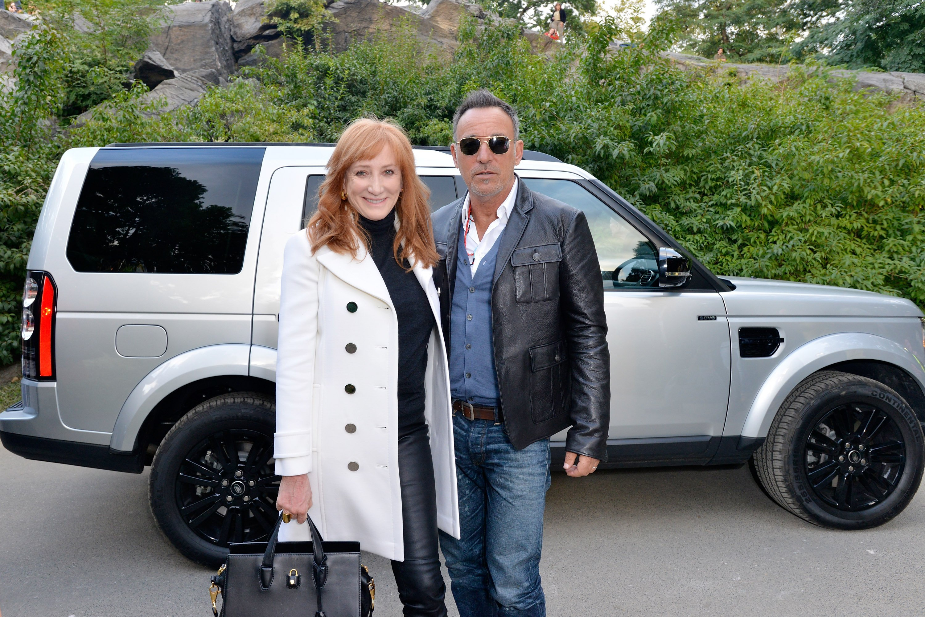 Patti Scialfa and Bruce Springsteen attend the Central Park Horse Show. | Source: Getty Images
