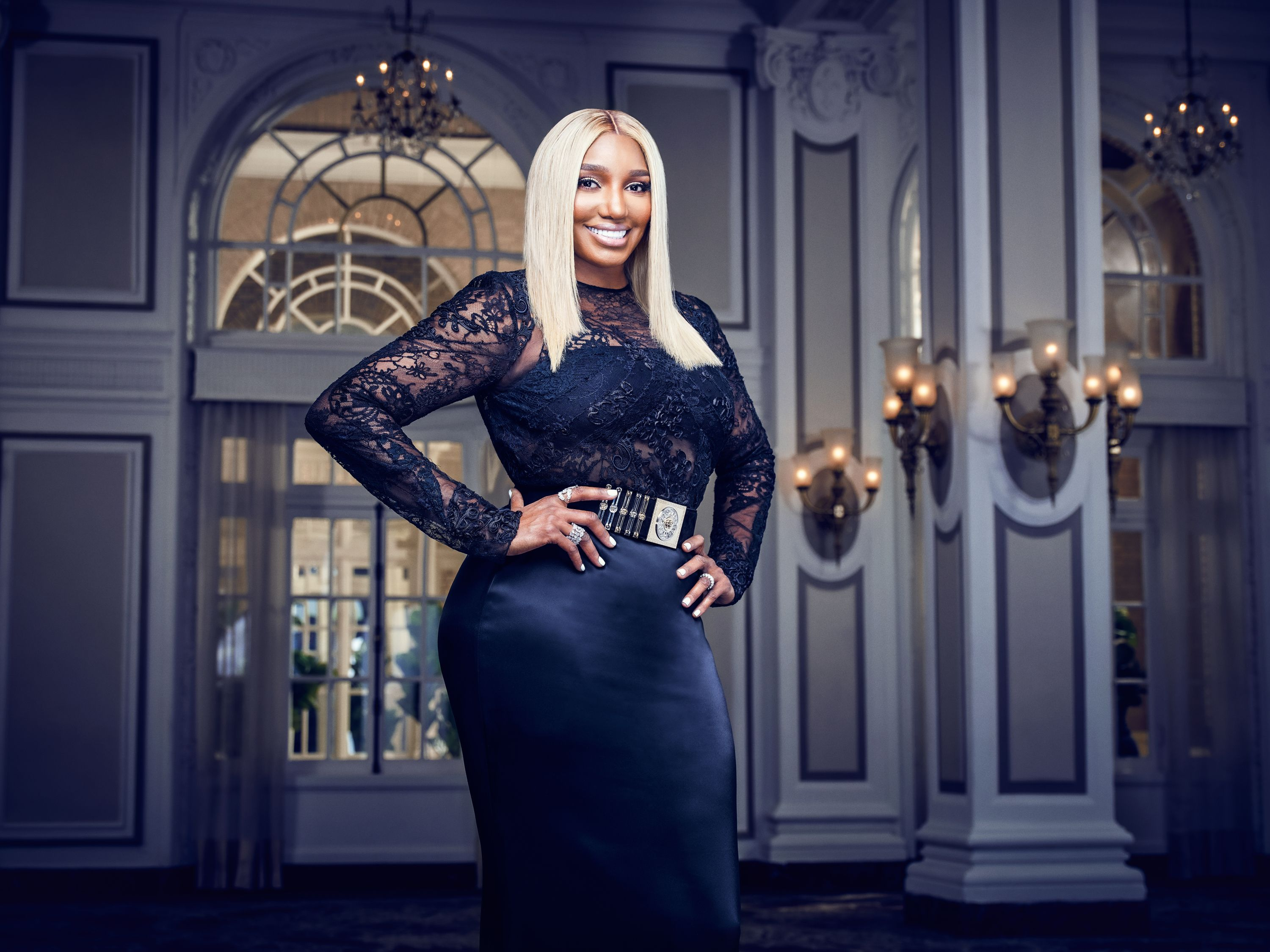 """NeNe Leakes at a promotional shoot for """"The Real Housewives of Atlanta"""" 
