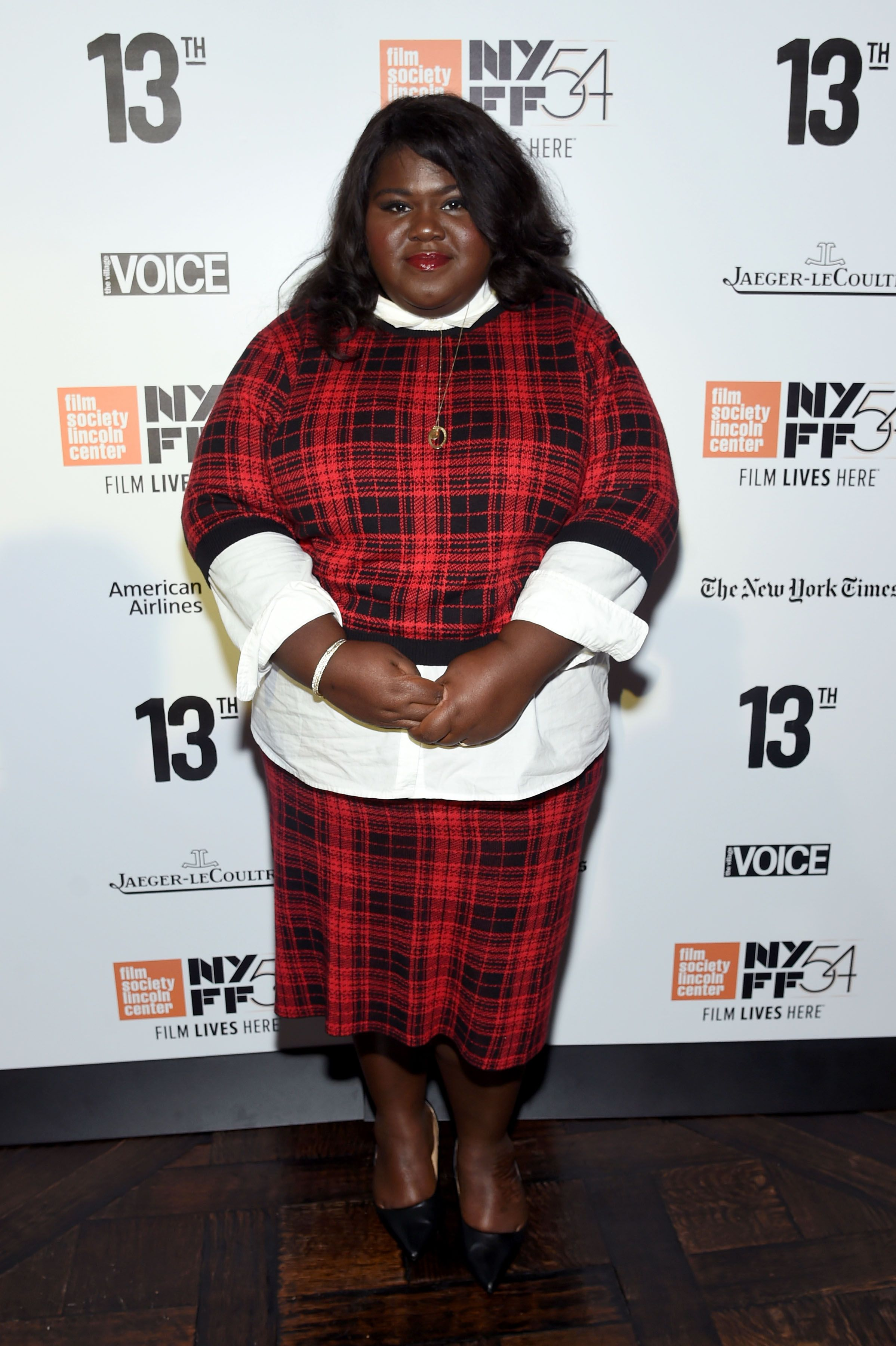 Gabourey Sidibe at the New York Film Festival Opening Night Party in 2016 in New York City | Source: Getty Images