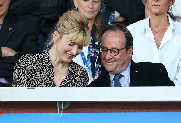 La photo de Julie Gayet avec François Hollande le 31 mai 2019 à Creteil, en France | Source: Getty Images / Global Ukraine