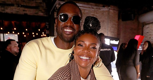 Watch Kaavia James Channel Her Dad Dwyane Wade as She Plays Basketball in a Pink Onesie (Video)