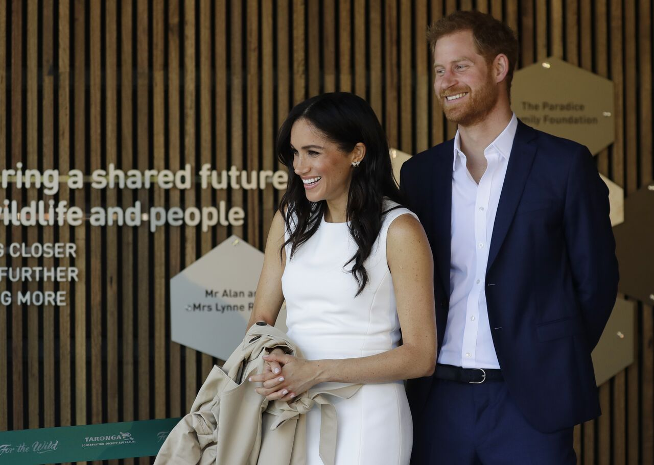 Prince Harry, Duke of Sussex and Meghan, Duchess of Sussex attend a ceremony at Taronga Zoo in Sydney, Australia | Photo: Getty Images