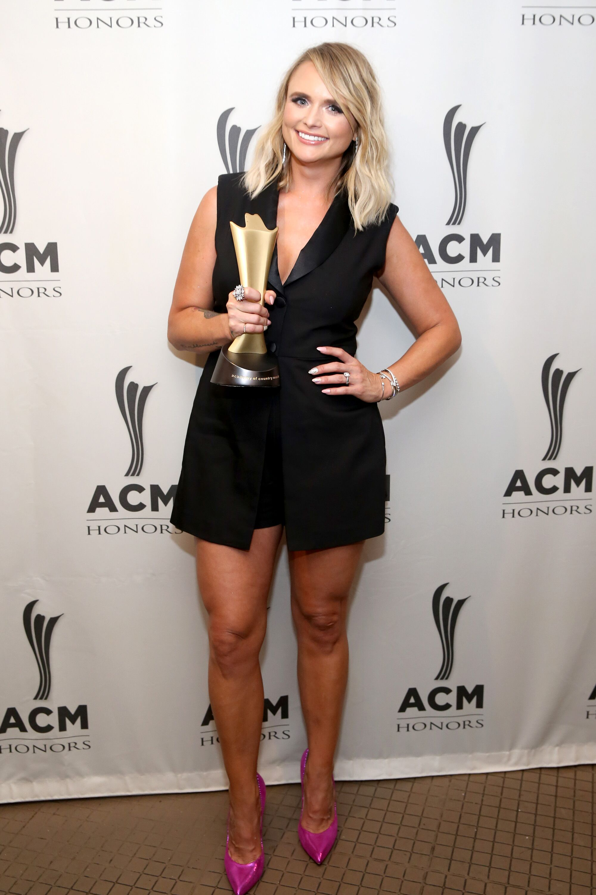 Miranda Lambert at the 13th Annual ACM Honors on August 21, 2019, in Nashville, Tennessee.   Source: Getty Images