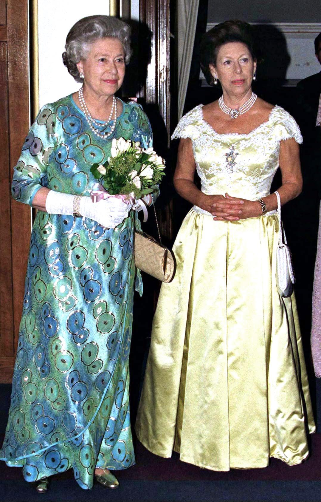 The Queen And Princess Margaret Attending A Concert At The Royal College Of Music.   Source: Getty Images