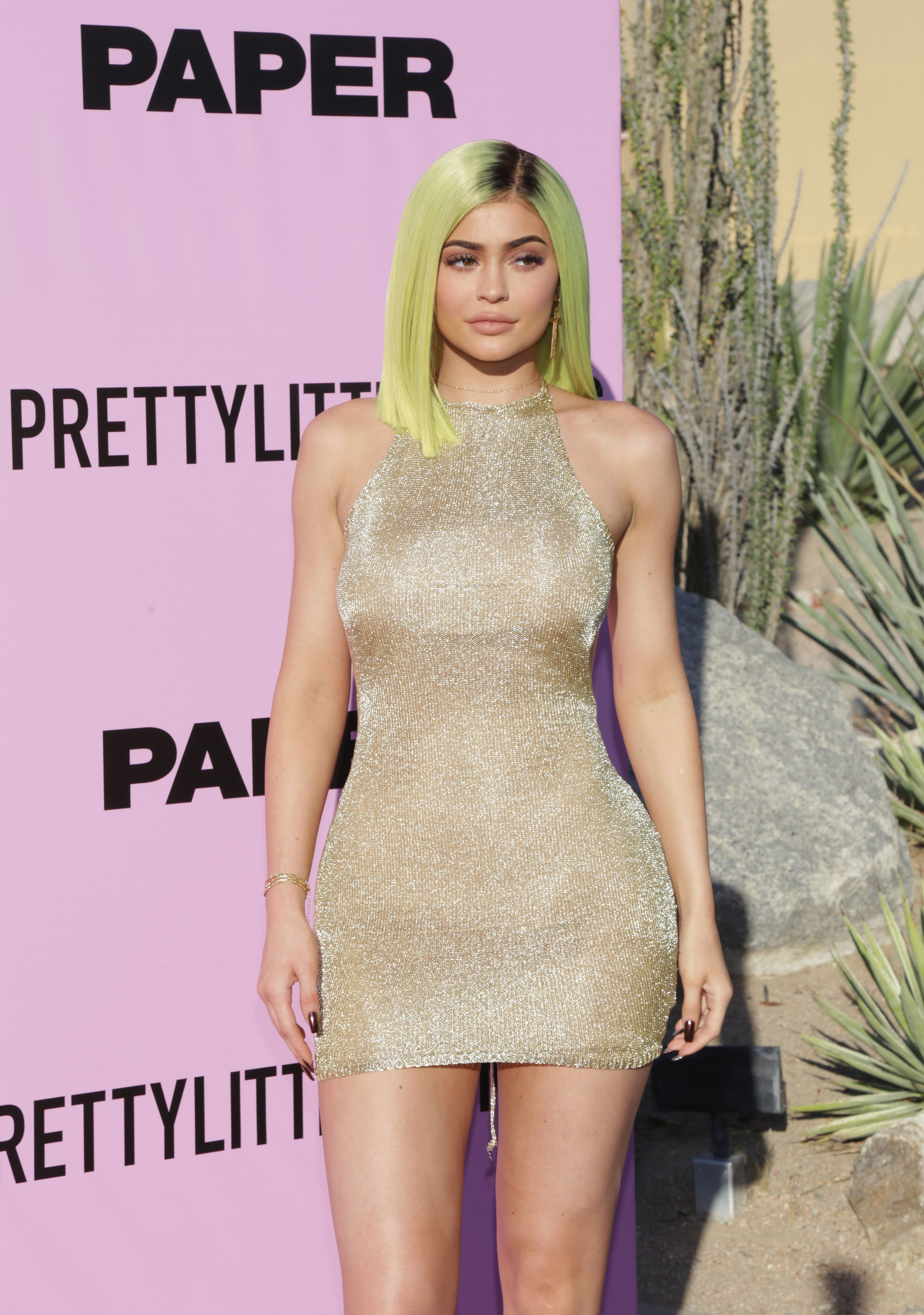 Kylie Jenner attends the PrettyLittleThing x Paper Magazine - The Pretty Little Playground on April 14, 2017 | Photo: Getty Images