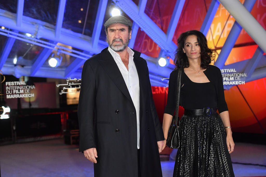 Eric Cantona et Rachida Brakni assistent à la cérémonie d'ouverture lors du 18e Festival International du Film de Marrakech le 29 novembre 2019 à Marrakech, Maroc. | Photo : Getty Images.