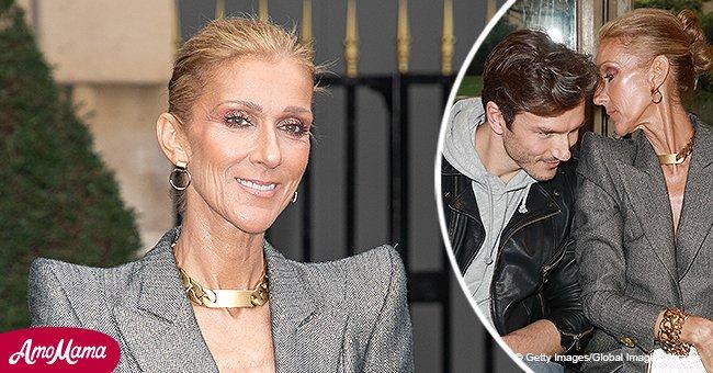 Céline Dion, 50 ans, brille dans un pantalon argent plongeant, se sente à l'aise avec Pepe Muñoz, 34 ans
