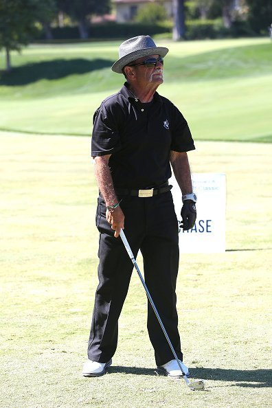 Joe Pesci at Lakeside Golf Club on June 11, 2018 in Burbank, California. | Photo: Getty Images