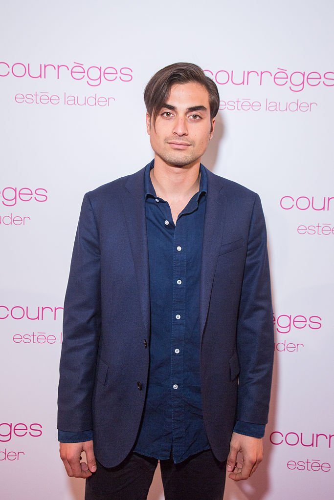 Tuki Brando at the Courreges and Estee Lauder : Dinner Party as part of the Paris Fashion Week Womenswear Fall/Winter 2015/2016 on March 7, 2015   Photo: Getty Images