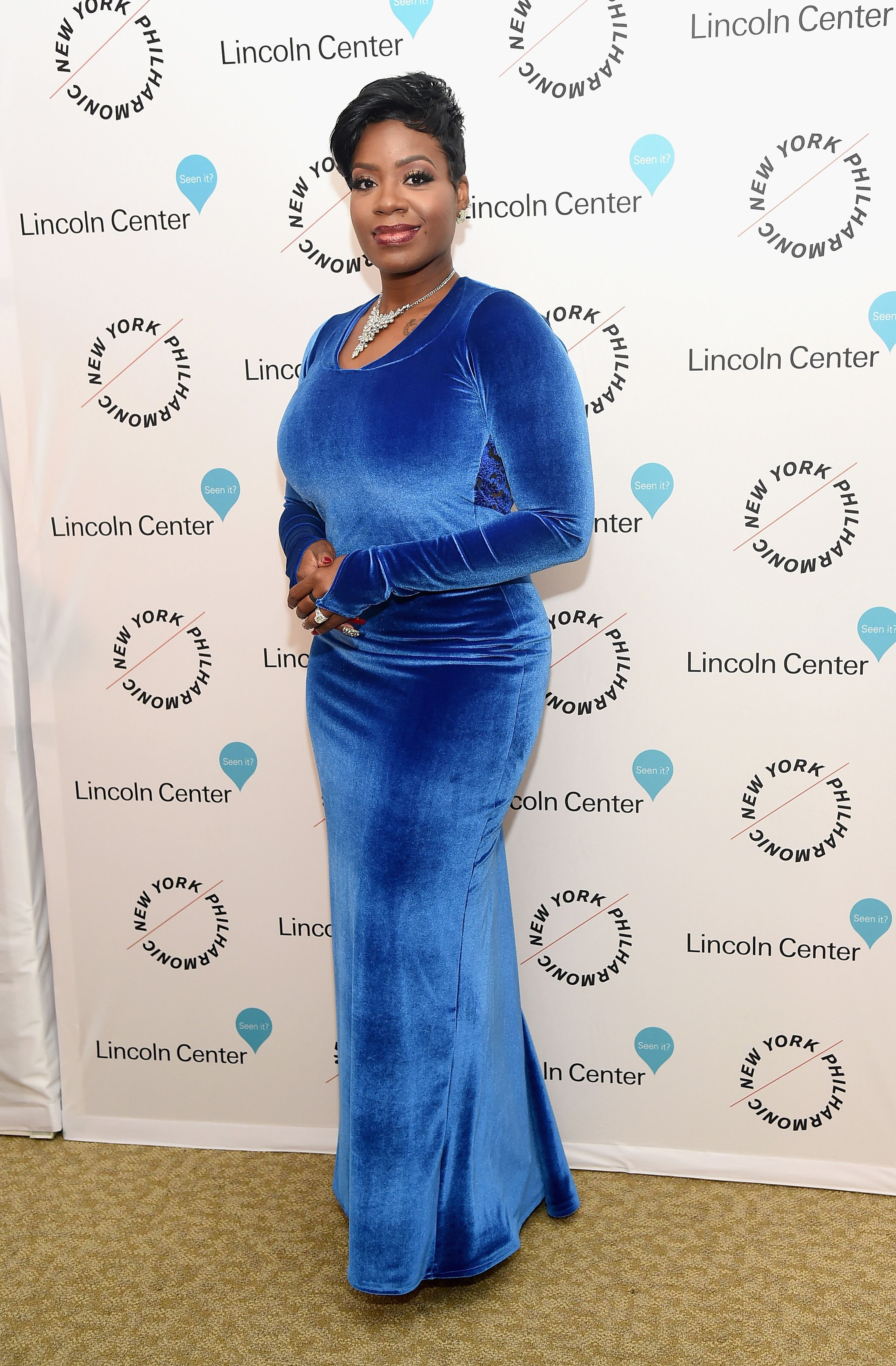 """Fantasia Barrino during the """"Sinatra Voice for a Century"""" event at David Geffen Hall on December 3, 2015 in New York City. 