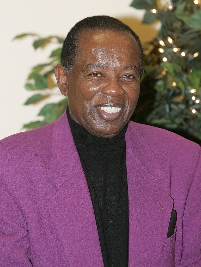 Lou Rawls during Lou Rawls Center for the Performing Arts Opens at Florida Memorial College at Florida Memorial College in Miami, Florida on October 29, 2004. | Photo: Getty Images