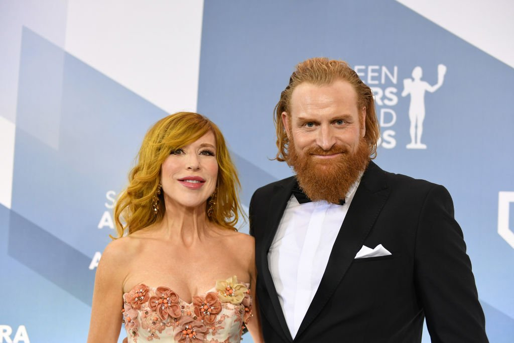 Kristofer Hivju and Gry Molvær Hivju attend the 26th Annual Screen ActorsGuild Awards at The Shrine Auditorium on January 19, 2020 in Los Angeles, California | Photo: GettyImages