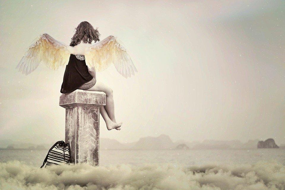 Ángel de la guarda-Imagen tomada de Pixabay