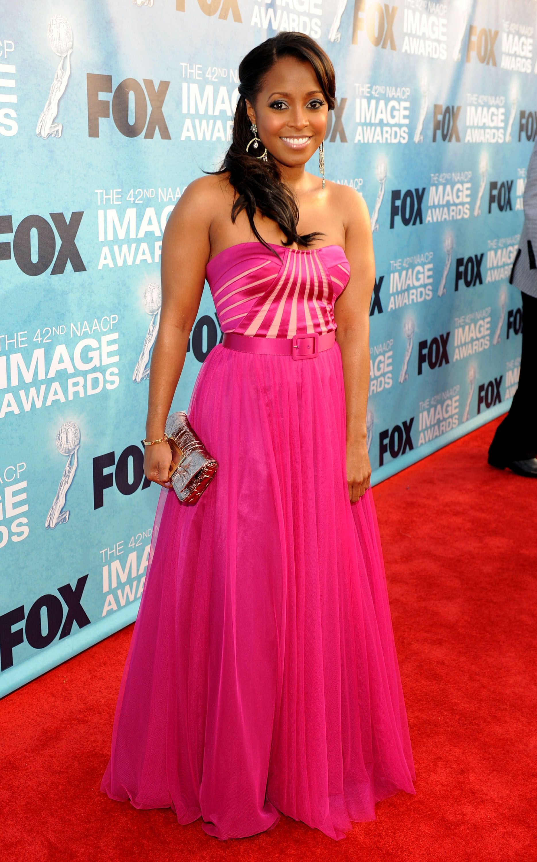 Keshia Knight Pulliam at the NAACP Image Awards on March 4, 2011 in Los Angeles, California. | Photo: Getty Images