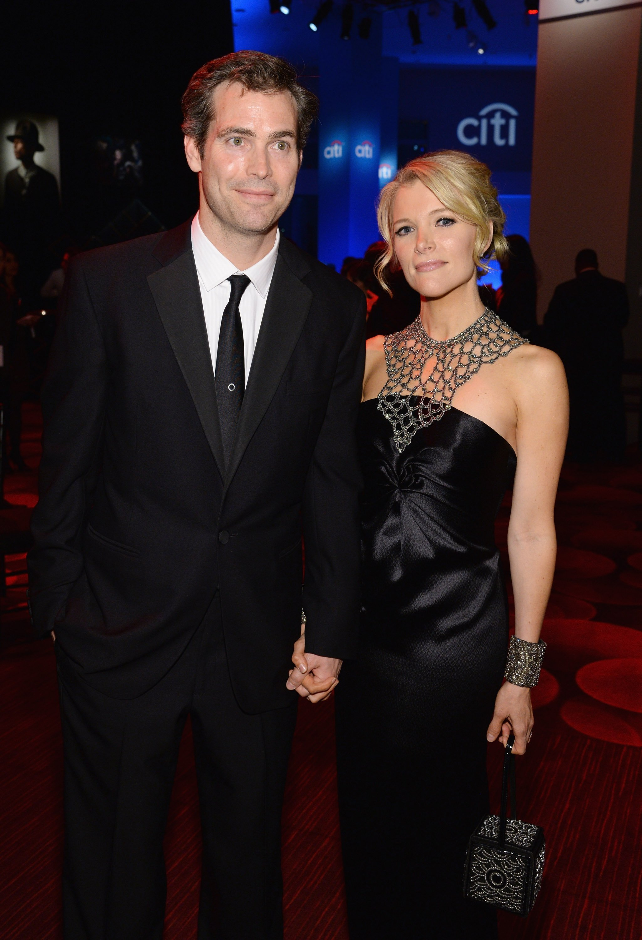 Douglas Brunt (L) and Honoree Megyn Kelly attend the TIME 100 Gala, TIME's 100 most influential people in the world, at Jazz at Lincoln Center on April 29, 2014, in New York City. | Source: Getty Images.