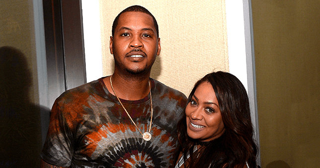 La La Anthony FaceTimed Son Kiyan so That He Could See Dad Carmelo during Best Game of His Season