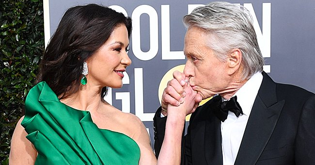 Catherine Zeta-Jones Recalls Dress Malfunction before Leaving For the Golden Globes Red Carpet