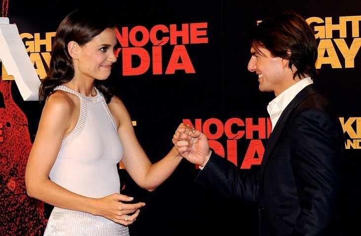 Tom Cruise and Katie Holmes. I Image: Getty Images.