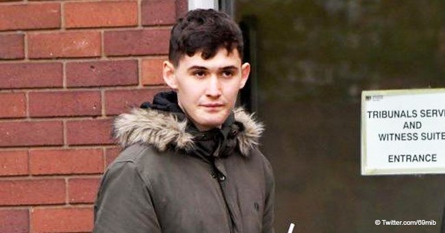 17-year-old boy involved in attacking helpless lady with eggs and flour was found guilty