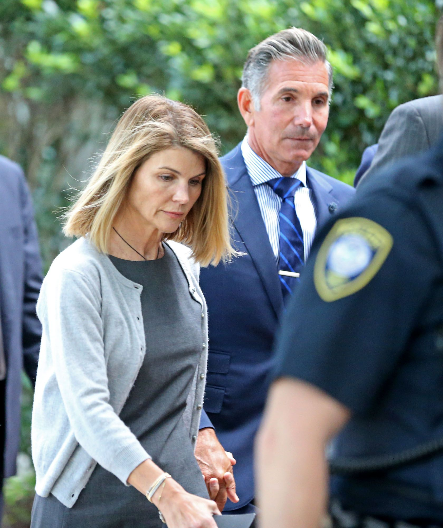 Lori Loughlin and Mossimo Giannulli leave Moakley Federal Courthousein Boston, Massachusetts   Photo: Stuart Cahill/MediaNews Group/Boston Herald via Getty Images