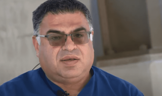Dr. Alkhouri talking about the incident | Photo: Youtube.com/KCRA News