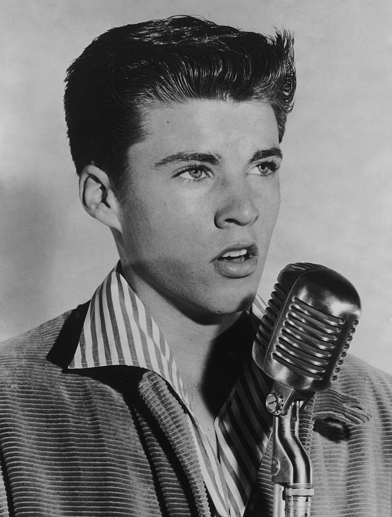American singer and actor Ricky Nelson (1940 - 1985), circa 1955. | Photo by Hulton Archive/Getty Images