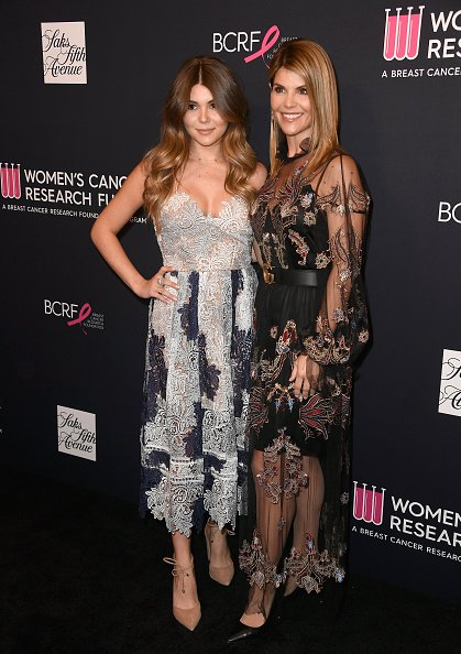 Olivia Jade and Lori Loughlin attend WCRF's 'An Unforgettable Evening' at the Beverly Wilshire Four Seasons Hotel on February 27, 2018, in Beverly Hills, California. | Source: Getty Images.