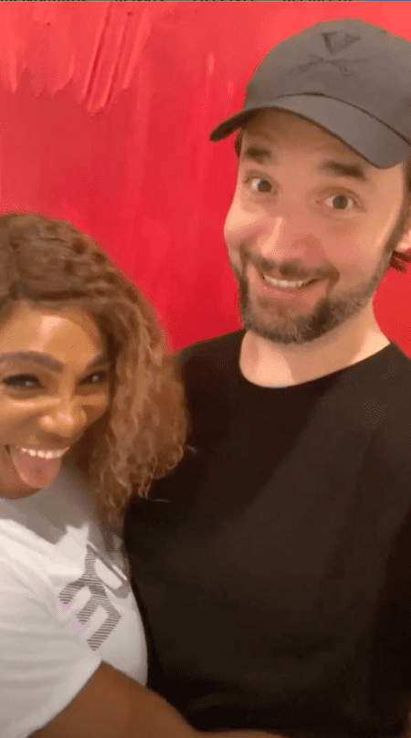 Smiling photo of Serena Williams and her husband on her Instagram stories | Photo: Instagram/serenawilliams