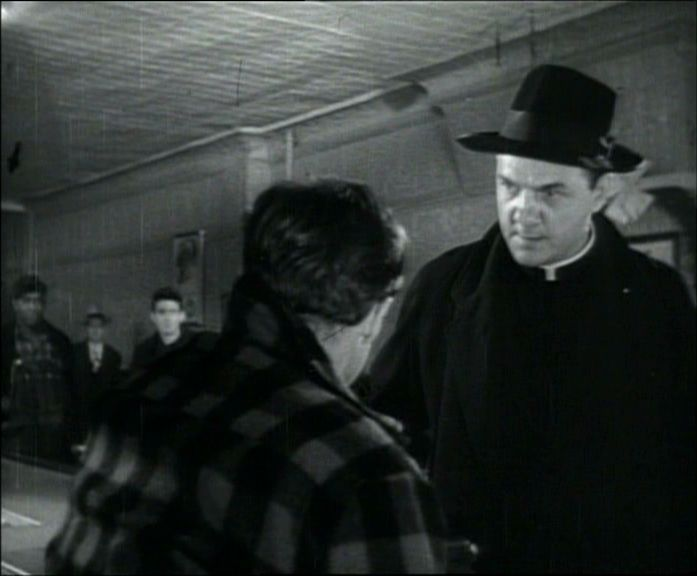 "Karl Malden in the movie ""On the Waterfront."" 